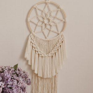 Dekoracjaścienna-średnia makrama